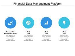 Financial Data Management Platform Ppt Powerpoint Presentation Outline Sample Cpb