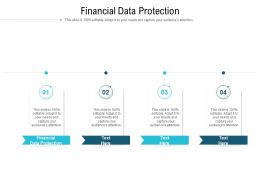 Financial Data Protection Ppt Powerpoint Presentation Slides Elements Cpb
