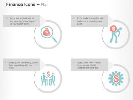 Financial Data Search Business Deal Process Control Crisis Ppt Icons Graphics