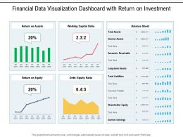 Financial Data Visualization Dashboard With Return On Investment