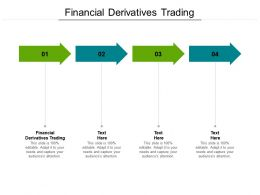 Financial Derivatives Trading Ppt Powerpoint Presentation Ideas Visual Aids Cpb