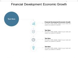 Financial Development Economic Growth Ppt Powerpoint Presentation Layouts Rules Cpb