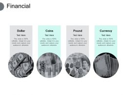 Financial Dollar Coins Pounds Currency F281 Ppt Powerpoint Presentation Pictures Rules