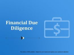 Financial Due Diligence Powerpoint Slides Templates