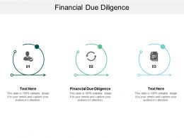 Financial Due Diligence Ppt Powerpoint Presentation Show Portfolio Cpb