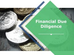 Financial Due Diligence Ppt Slide Show