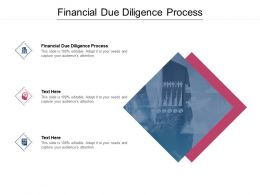 Financial Due Diligence Process Ppt Powerpoint Presentation Gallery Gridlines Cpb