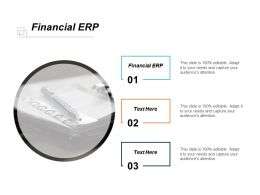 Financial ERP Ppt Powerpoint Presentation Gallery Background Cpb