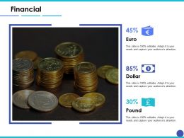 Financial Euro Ppt Inspiration Example Introduction