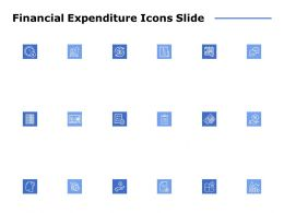 Financial Expenditure Icons Slide Checklist C958 Ppt Powerpoint Presentation File Outline