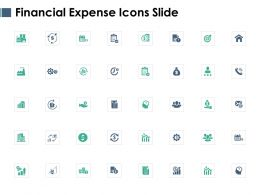 Financial Expense Icons Slide Growth L431 Ppt Powerpoint Mockup