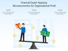 Financial Expert Applying Microeconomics For Organizational Profit
