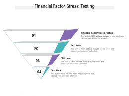 Financial Factor Stress Testing Ppt Powerpoint Presentation File Rules Cpb