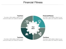 Financial Fitness Ppt Powerpoint Presentation Gallery Brochure Cpb