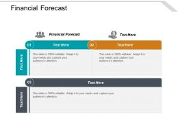 Financial Forecast Ppt Powerpoint Presentation Slides Master Slide Cpb