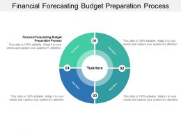 Financial Forecasting Budget Preparation Process Ppt Powerpoint Presentation File Ideas Cpb
