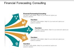 Financial Forecasting Consulting Ppt Powerpoint Presentation Inspiration Introduction Cpb