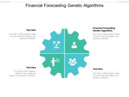 Financial Forecasting Genetic Algorithms Ppt Powerpoint Presentation Icon Cpb