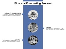 Financial Forecasting Process Ppt Powerpoint Presentation Show Cpb