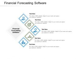 Financial Forecasting Software Ppt Powerpoint Presentation Icon Ideas Cpb