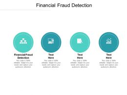Financial Fraud Detection Ppt Powerpoint Presentation Gallery Background Image Cpb
