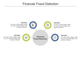 Financial Fraud Detection Ppt Powerpoint Presentation Gallery Shapes Cpb