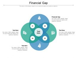 Financial Gap Ppt Powerpoint Presentation Infographics Display Cpb