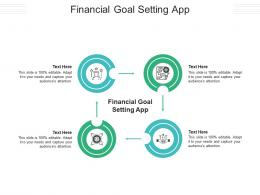 Financial Goal Setting App Ppt Powerpoint Presentation Styles Guidelines Cpb