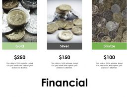 Financial Gold Silver Bronze F375 Ppt Powerpoint Presentation Pictures Gallery