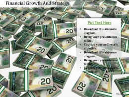 Financial Growth And Strategy Image Graphics For Powerpoint