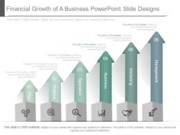 Financial Growth Of A Business Powerpoint Slide Designs