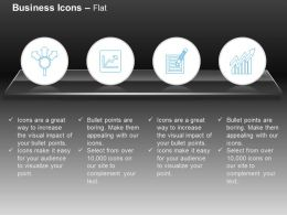 Financial Growth Representation Charts Ppt Icons Graphics