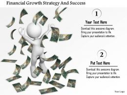Financial Growth Strategy And Success Ppt Graphics Icons