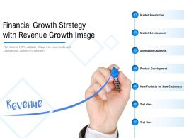Financial Growth Strategy With Revenue Growth Image
