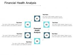 Financial Health Analysis Ppt Powerpoint Presentation File Inspiration Cpb