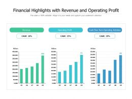 Financial Highlights With Revenue And Operating Profit