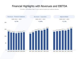 Financial Highlights With Revenues And EBITDA