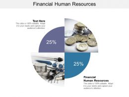 Financial Human Resources Ppt Powerpoint Presentation Show Guidelines Cpb