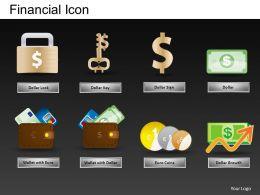 Financial Icons Powerpoint Presentation Slides DB