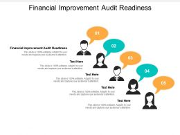 Financial Improvement Audit Readiness Ppt Powerpoint Presentation Infographic Template Example
