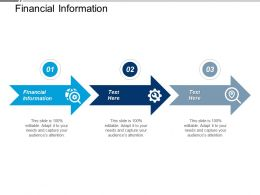 Financial Information Ppt Powerpoint Presentation Gallery Information Cpb