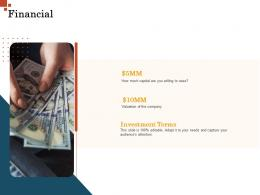 Financial Inorganic Growth Management Ppt Template