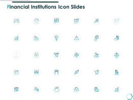 Financial Institutions Icon Slides Management K48 Ppt Powerpoint Presentation Templates