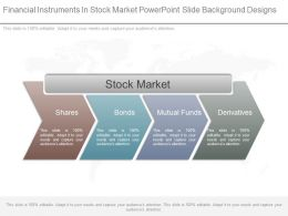 Financial Instruments In Stock Market Powerpoint Slide Background Designs