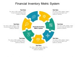 Financial Inventory Metric System Ppt Powerpoint Presentation Show Cpb