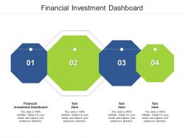 Financial Investment Dashboard Ppt Powerpoint Brochure Cpb