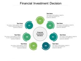 Financial Investment Decision Ppt Powerpoint Presentation Styles Microsoft Cpb