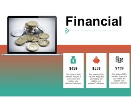 Financial Investment Ppt Summary Example Introduction