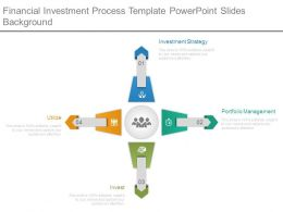 Financial Investment Process Template Powerpoint Slides Background