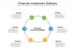 Financial Investment Software Ppt Powerpoint Presentation Professional Graphics Design Cpb